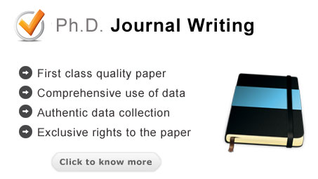 Ph.D. Journal writing service